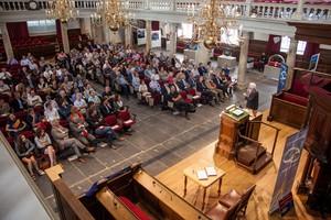 Symposium 'Nikhef viert 60 jaar CERN' ©Foto Hanne Nijhuis